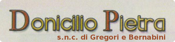 Donicilio Pietra
